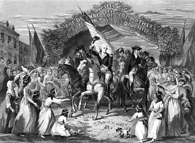 Inauguration Painting - Washington Trenton, 1789 by Granger