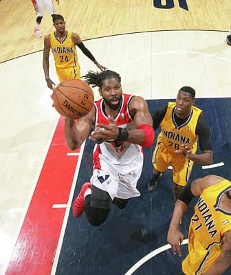 Photograph - Washington Wizards V Indiana Pacers - by Ned Dishman