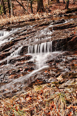 Massachusetts Photograph - Waterfall  by HD Connelly