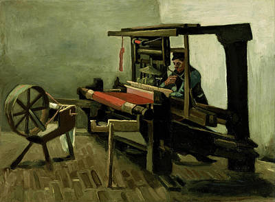 Painting - Weaver by Vincent Van Gogh