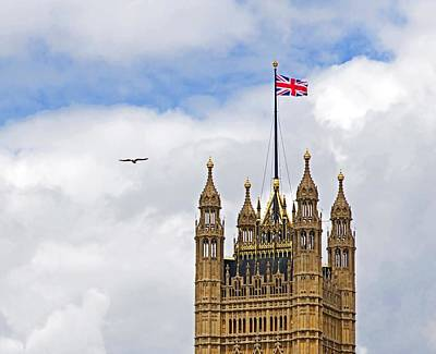 Photograph - Westminster Flyby by Keith Armstrong