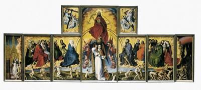 Weyden, Rogier Van Der  1400-1464. The Art Print by Everett