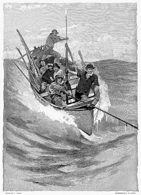 Nantucket Painting - Whaling, 19th Century by Granger