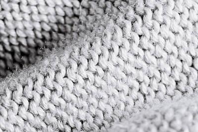 Woolen Photograph - White Wool by Tom Gowanlock
