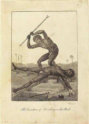 Blake Drawing - William Blake After John Gabriel Stedman British by Quint Lox