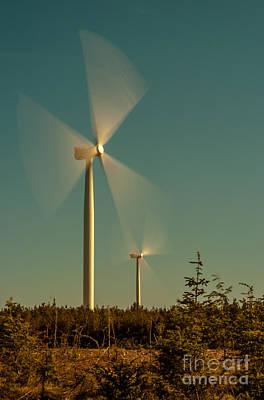 Photograph - Wind Power by Jorgen Norgaard