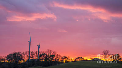 Photograph - Wind Power - Middleton, Wi by Steven Ralser