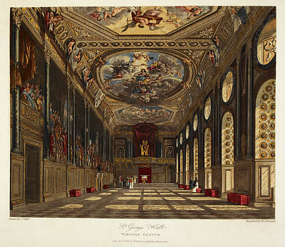Mural Photograph - Windsor Castle by British Library
