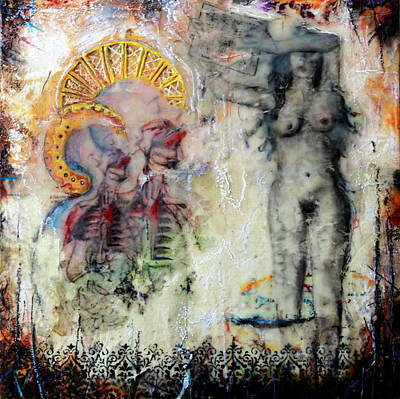 With The Tongues Of Angels Art Print
