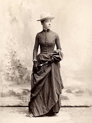 Equestrian Fashion Photograph - Women's Fashion, 1880s by Granger