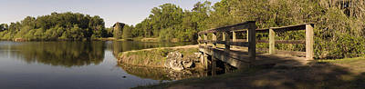 Wooden Footbridge Original