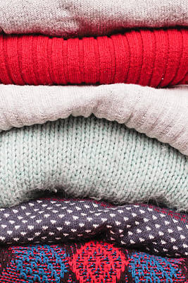 Designers Choice Photograph - Wool Jumpers  by Tom Gowanlock