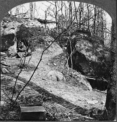 Belleau Wood Photograph - World War I French Trench by Granger