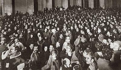 World War I Petrograd Art Print by Granger