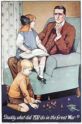 World War I Poster, 1915 Art Print by Granger