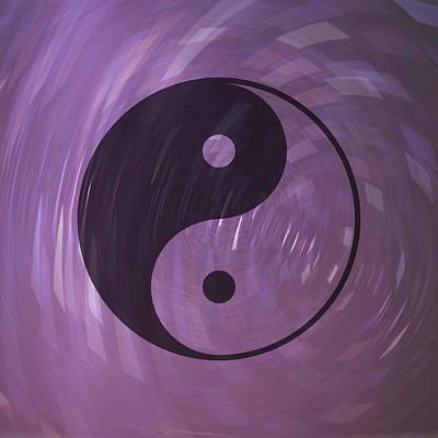 Yin And Yang Art Print by Daryl Macintyre