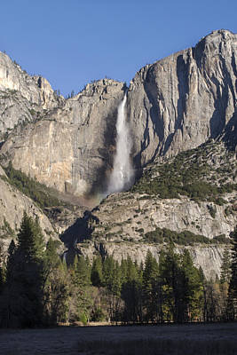 Photograph - Yosemite Falls 2015 by Richard Verkuyl
