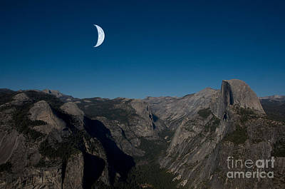 Yosemite National Park Print by Mark Newman