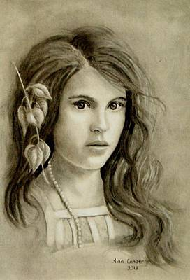 Young Girl Art Print