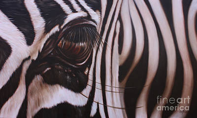 Painting - Zebra by Ilse Kleyn