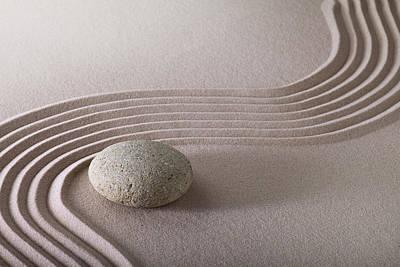 East Garden Photograph - Zen Garden by Dirk Ercken
