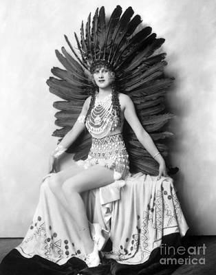 Ziegfeld Showgirl - Hazel Forbes - Whoopee Art Print by MMG Archive Prints