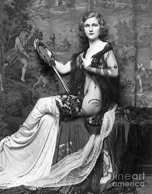 Ziegfeld Showgirl Model - Mary Alice Rice - 1931 Art Print by MMG Archive Prints