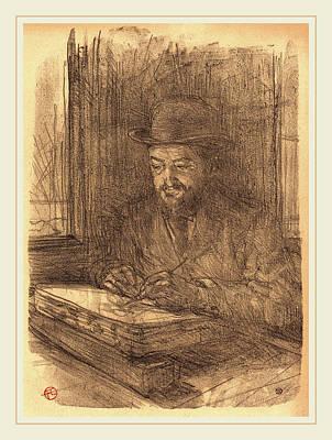 Henri De Toulouse-lautrec French, 1864-1901 Art Print by Litz Collection