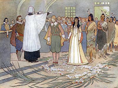 Pocahontas (1595?-1617) Art Print
