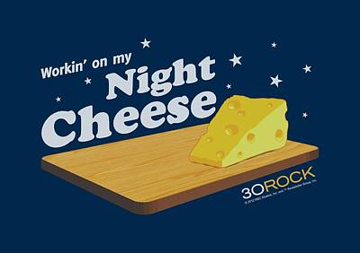 Lemon Digital Art - 30 Rock - Night Cheese by Brand A