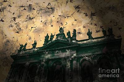 San Giovanni In Laterano Church Rome Italy Art Print by Marina McLain