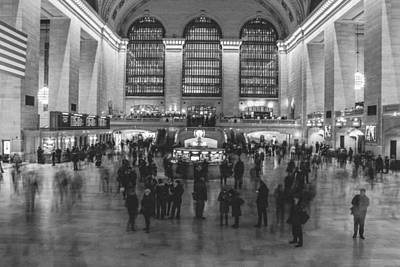 Photograph - 30 Seconds In Grand Central by Richard Cline