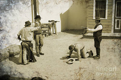 Photograph - 30 Seconds To Die In Tombstone by Brenda Kean