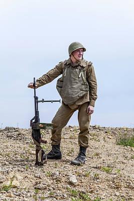 Photograph - Soviet Paratrooper In Afghanistan by Oleg Zabielin