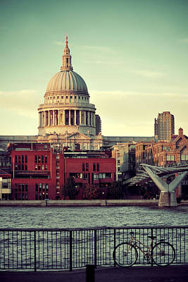 Photograph - St Paul's Cathedral by Songquan Deng