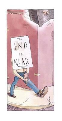Barry Blitt Drawing - New Yorker March 17th, 2003 by Barry Blitt