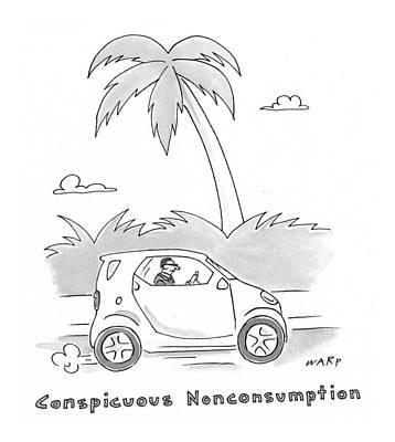 Kim Drawing - New Yorker May 11th, 2009 by Kim Warp