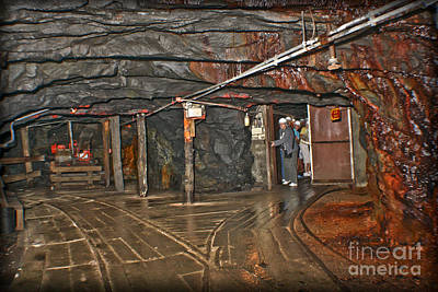 300 Feet Beneath The Earth Art Print by Gary Keesler