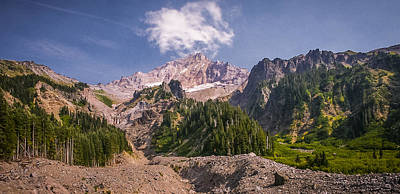 Photograph - Mt Hood In Late Summer by Albert Seger