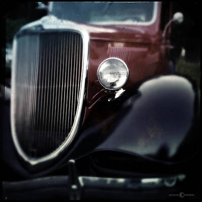 Photograph - 30s In Maroon And Black by Tim Nyberg