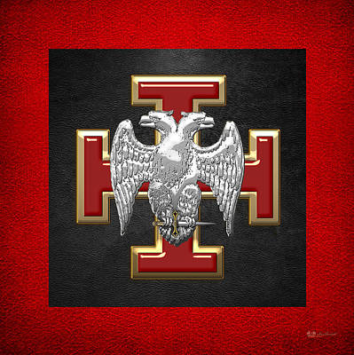 30th Degree Mason - Knight Kadosh Masonic Jewel  Original