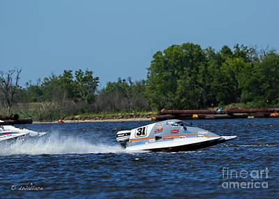 2-1-2013 Photograph - 31 A Boat Port Neches Riverfest by D Wallace