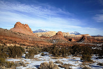 Beauty Mark Photograph - Capitol Reef National  Park Cathedral Valley by Mark Smith