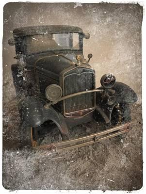 '31 Ford Diecast Truck Model Art Print