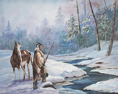 Painting - Indian Winter by Frances Lewis