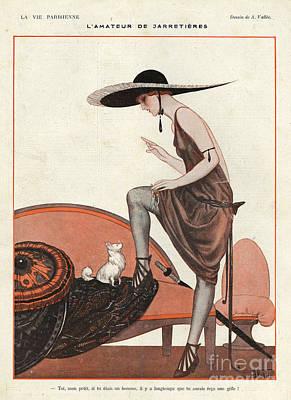 La Vie Parisienne 1922 1920s France Art Print by The Advertising Archives