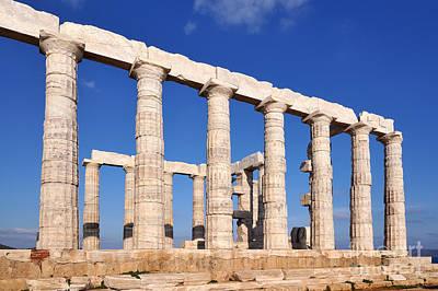Photograph - Poseidon Temple by George Atsametakis