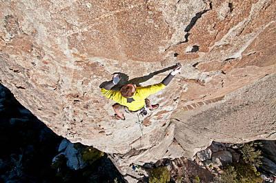 Minimalist Movie Quotes - Rock Climb by Elijah Weber