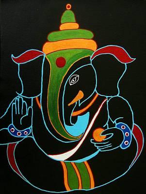31 Rudrapriya Ganesh Original by Kruti Shah