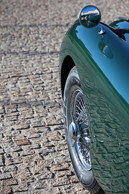 Antique Automobiles Photograph - Spain, Castilla Y Leon Region, Avila by Walter Bibikow